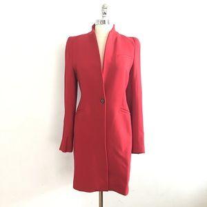 Zara Wool Tailored Trench Coat